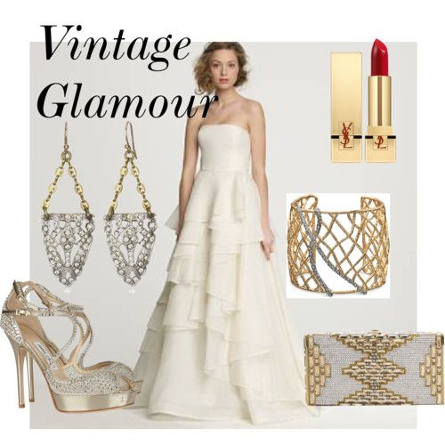 Vintage glamour! | White Wedding Style | Pinterest | Vintage glamour ...