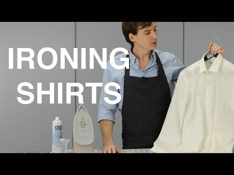 How To Iron Shirts The Ultimate Step By Step Guide Youtube