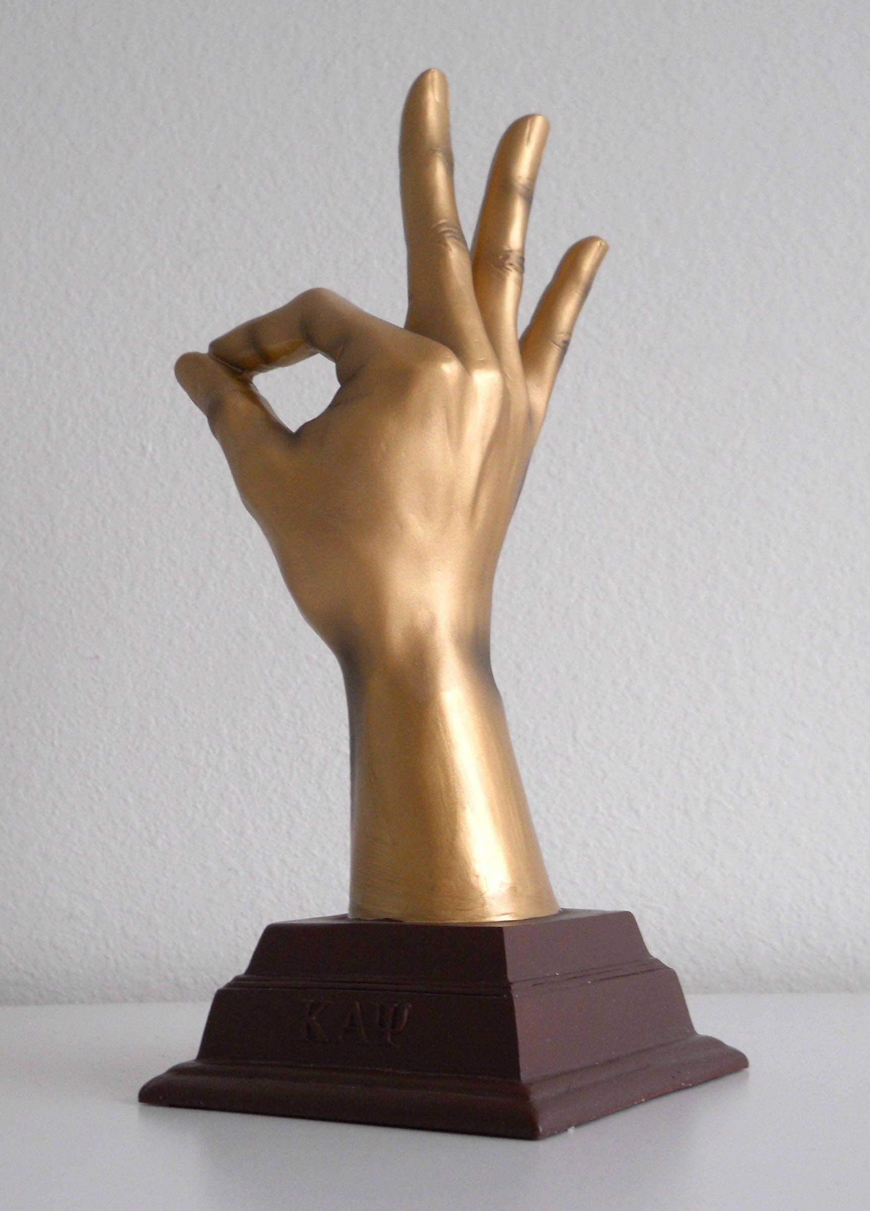 The hand yo kappa alpha psi sculpture thumbnail 1 kappa the hand yo kappa alpha psi sculpture thumbnail 1 buycottarizona Images