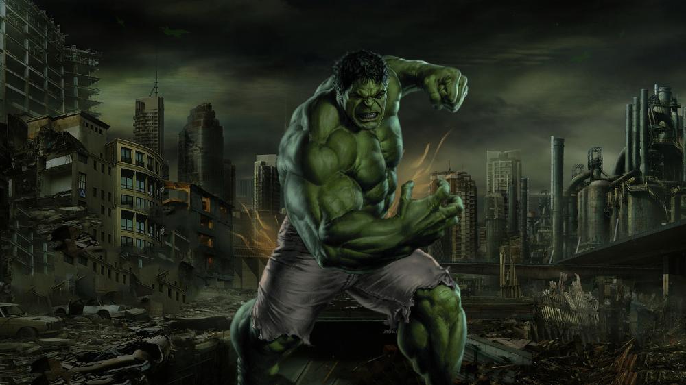 1920x1080 Hulk, smash it, green, fan art wallpaper