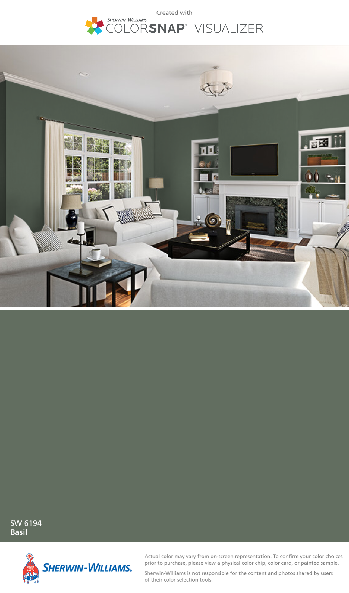 I Found This Color With ColorSnapR Visualizer For IPhone By Sherwin Williams Perfect Greige SW