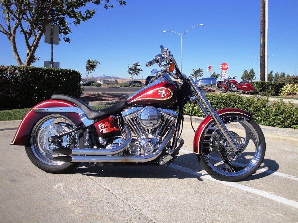 Harley Davidson San Francisco >> 49ers Harleydavidson Harley Hd Custommotorcycles