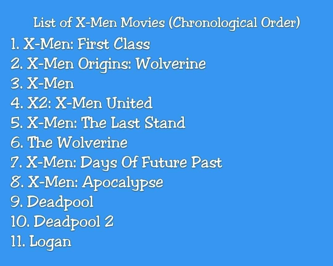 X Men Movies Best Watch Order Den Of Geek Man Movies Marvel Movies In Order X Men