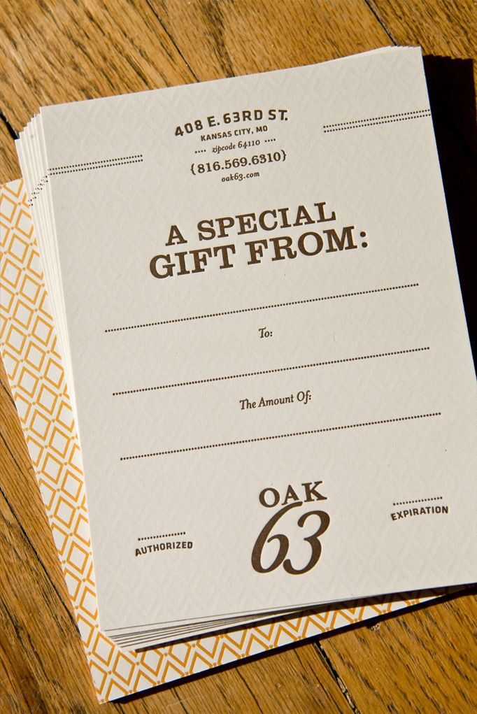 Oak 63 restaurant kansas city mo by nathanial cooper creative oak 63 restaurant kansas city mo by nathanial cooper creative gift certificate templatescertificate yadclub Image collections