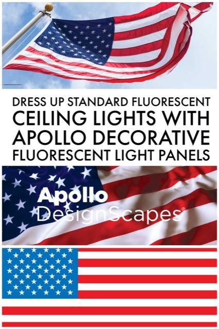 American Flag in 2019 | Flags - Apollo DesignScapes® | Fluorescent