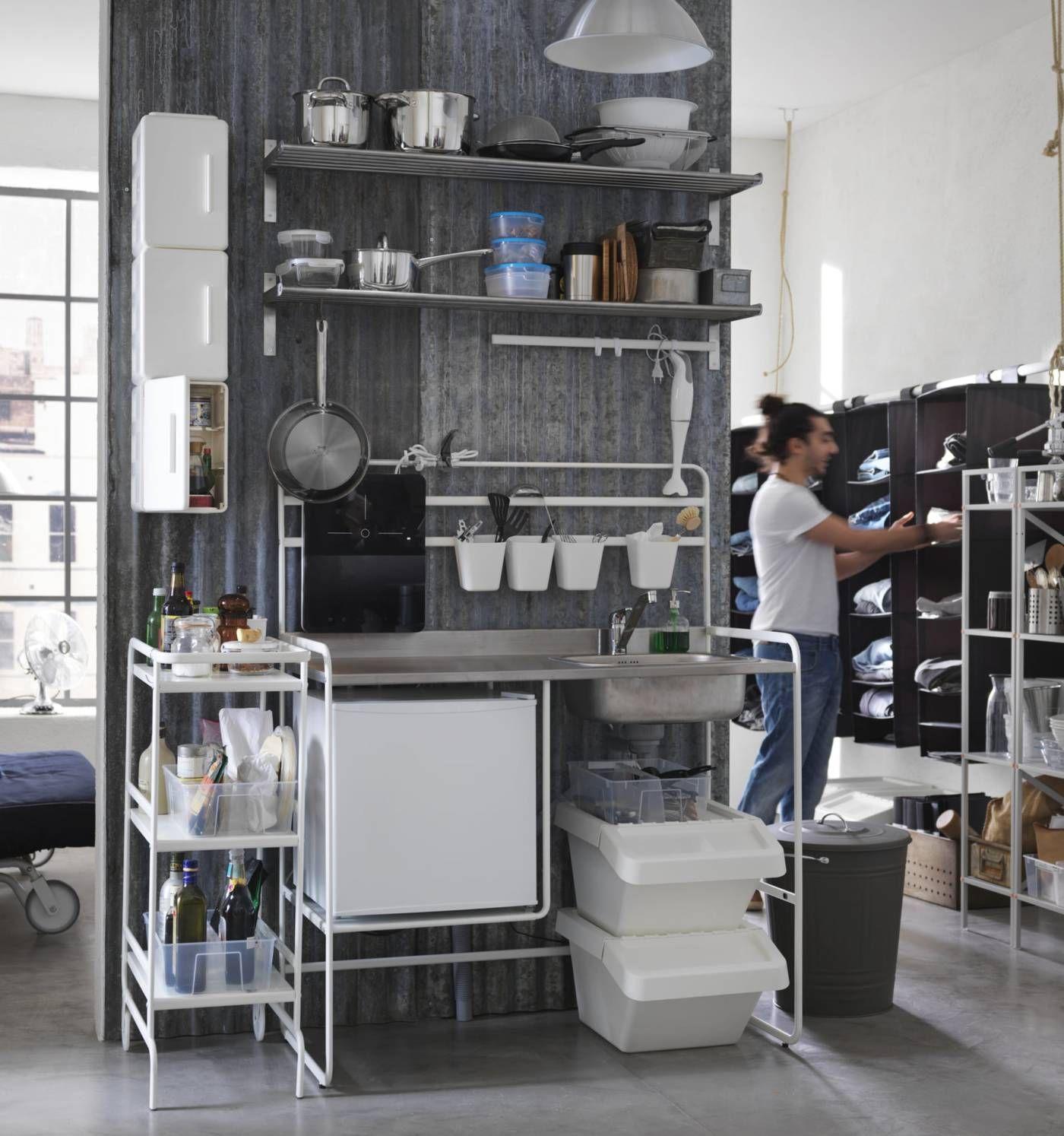 Miniküche 2017  Sunnersta Miniküche im Katalog | Wohnung: Ikea - zum einfachen ...