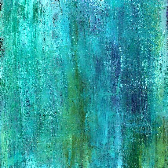 Бирюзовая абстракция