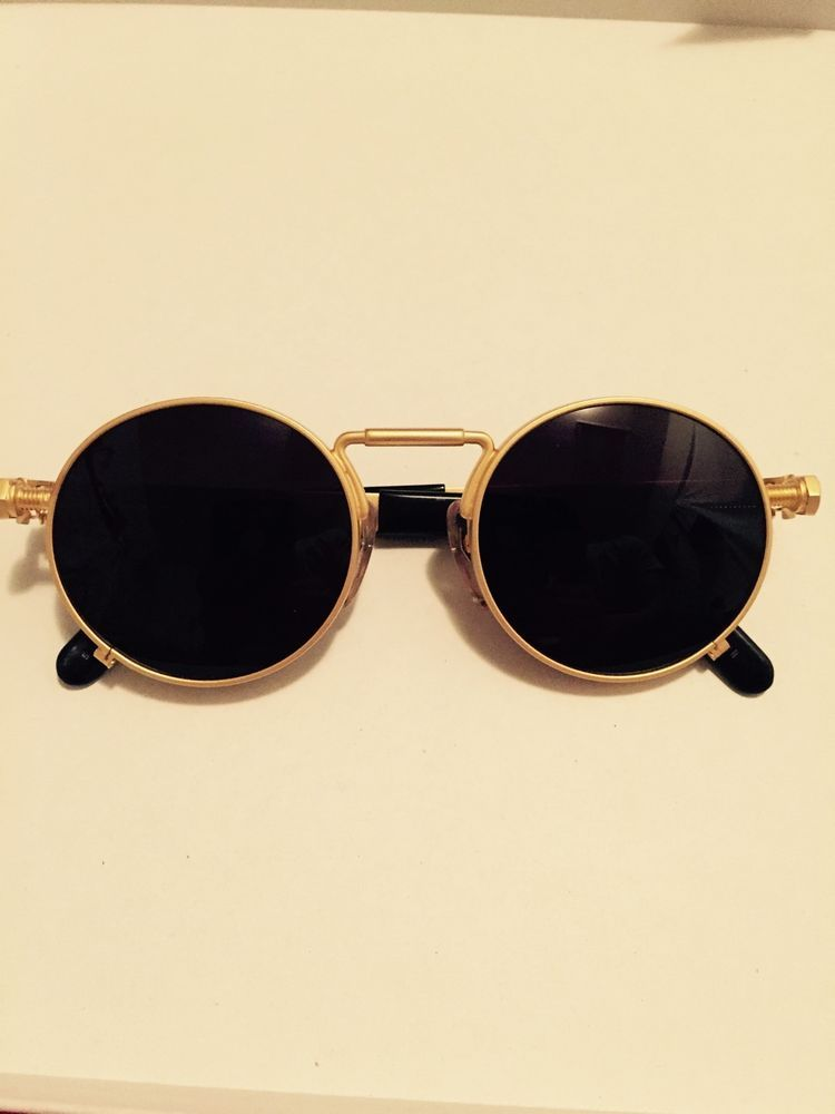 91faa34ebb Details about Vintage Jean Paul Gaultier Gold Sunglasses 56-6106 in ...