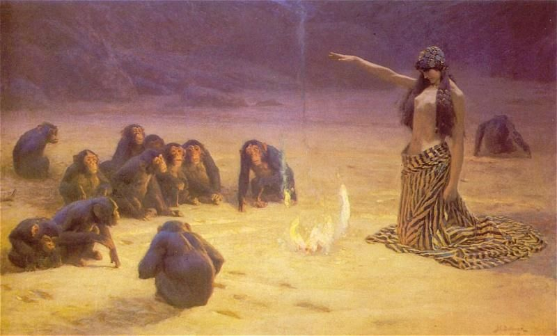 The Unknown by John Charles Dollman :: artmagick.com
