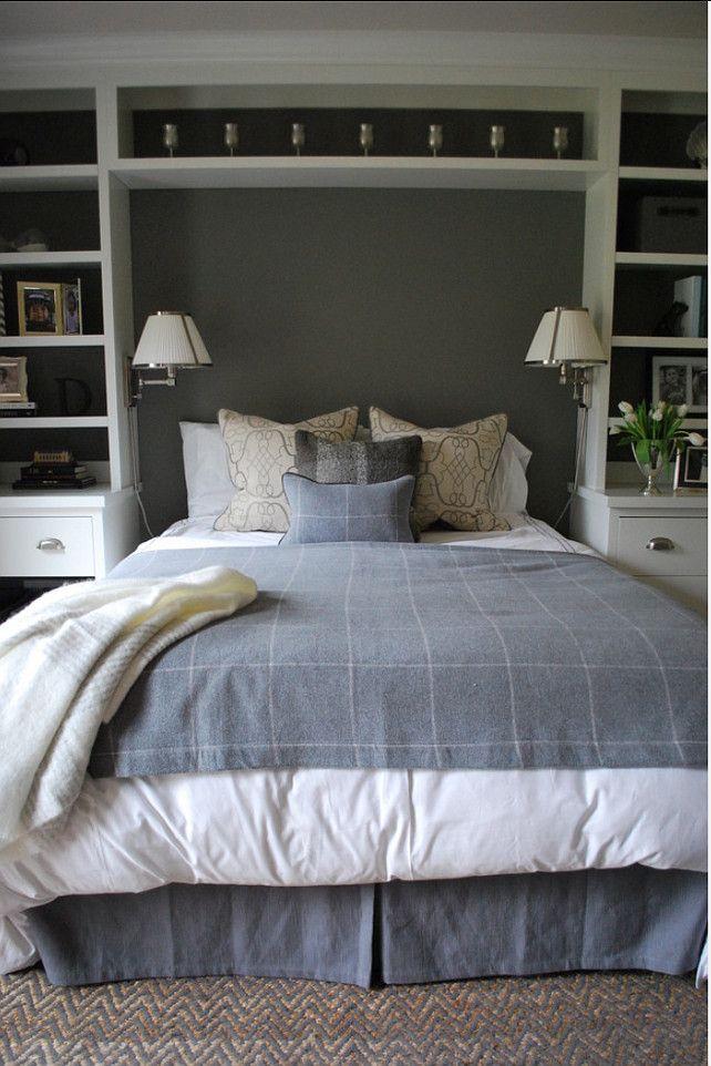 Bedroom ideas bedroom with built in bookshelves lisa - Bookshelf ideas for bedroom ...