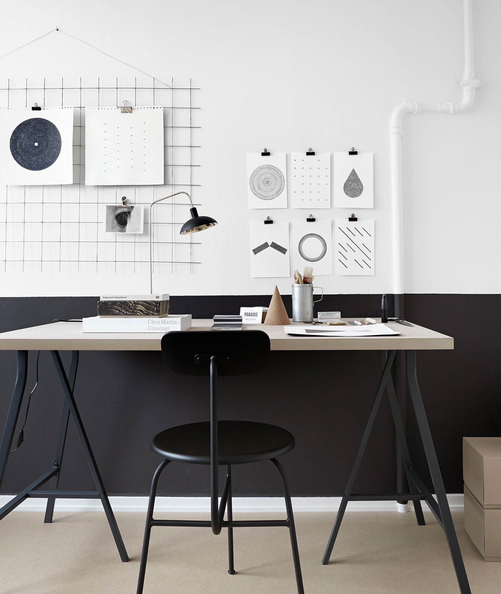 home office picture by tina hellberg h o m e o f f i c e pinterest einrichtung. Black Bedroom Furniture Sets. Home Design Ideas