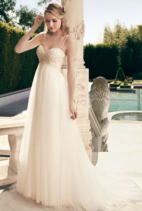 Casablanca Bridal 2172 Pregnant Wedding Dress Wedding Dresses