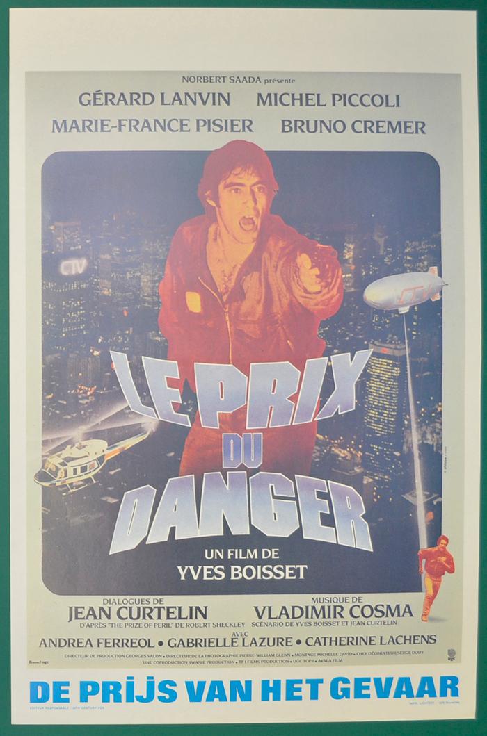 Le Prix Du Danger Original Belgian Movie Poster Original Cinema Movie Poster From Pastposters Com British Quad P Movie Posters Cinema Posters Cinema Movies