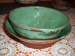 pair of green bowls