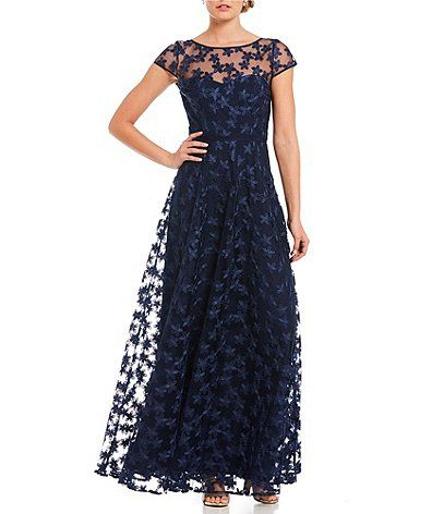 575e9ac5fd7 Shop for KARL LAGERFELD PARIS 3-D Lace Floral Gown at Dillards.com. Visit  Dillards.com to find clothing
