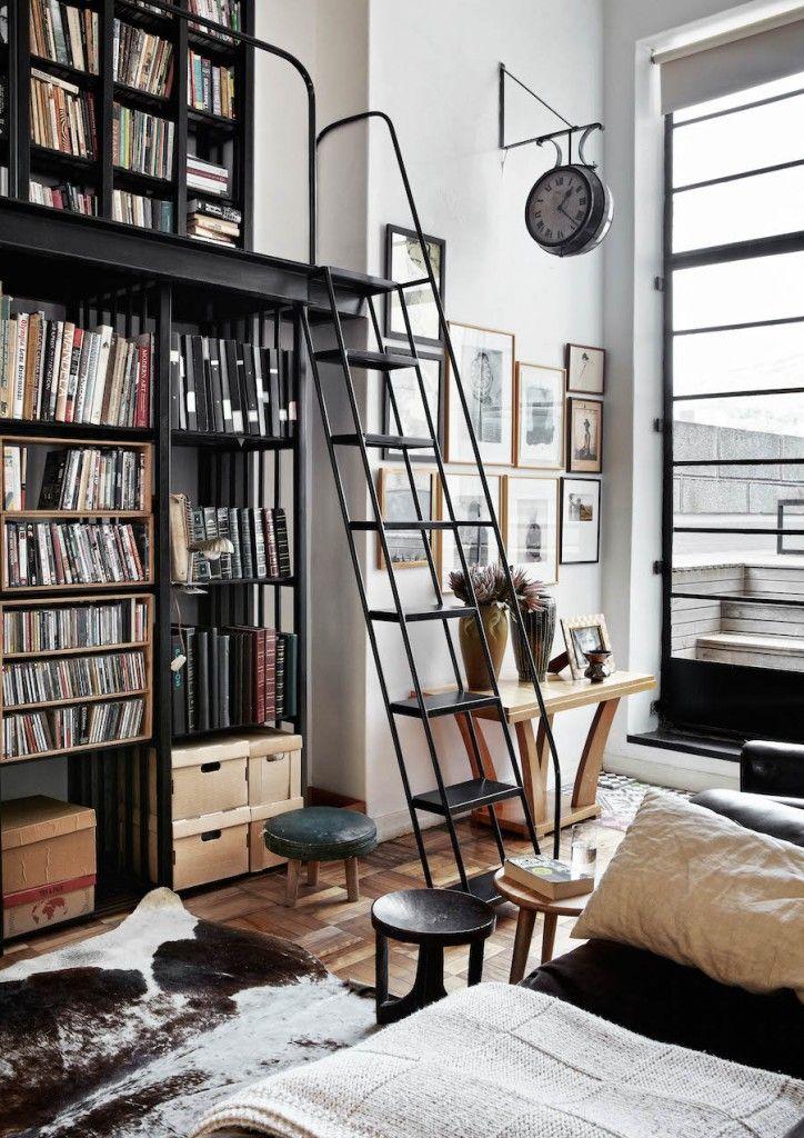 Bibliothèque Living with Books Pinterest Bibliotecas - bibliotecas modernas en casa