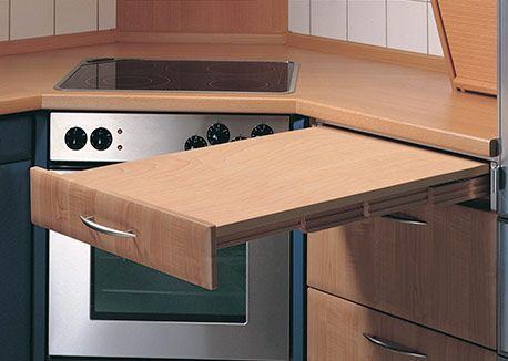 Make The Most Of Your Small Space With Hafele S Rapid Pull Out Table A Self Supporting Table That Provides Additional Count Kitchen Table Hafele Small Kitchen