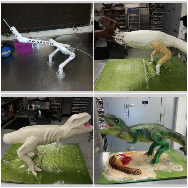 Here Is How To Make An Awesome Dinosaur Cake Cakes Cake