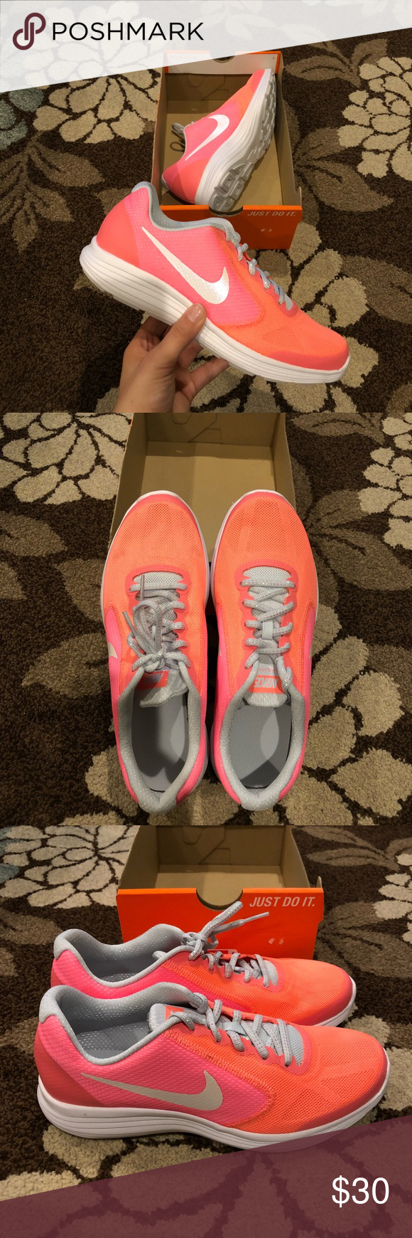 buy online 50b4e 2ed4e Nike Revolution 3 SE (GS)! Comes from a smoke free home! Brand new with  tags! The sizes in the listing are women s sizes as I will be shipping the  ...