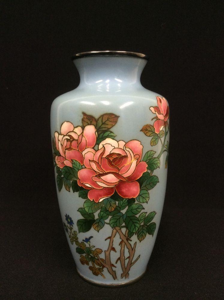 dating kinesisk cloisonne vaser