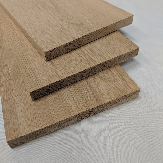 Best White Oak Stair Treads And Risers Unfinished And 400 x 300