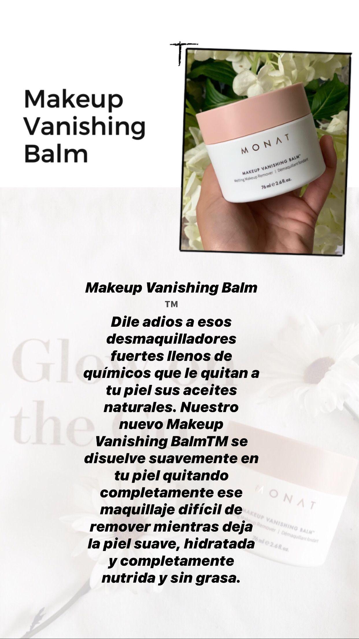 Makeup Vanishing Balm in 2020 Vegan makeup, The balm