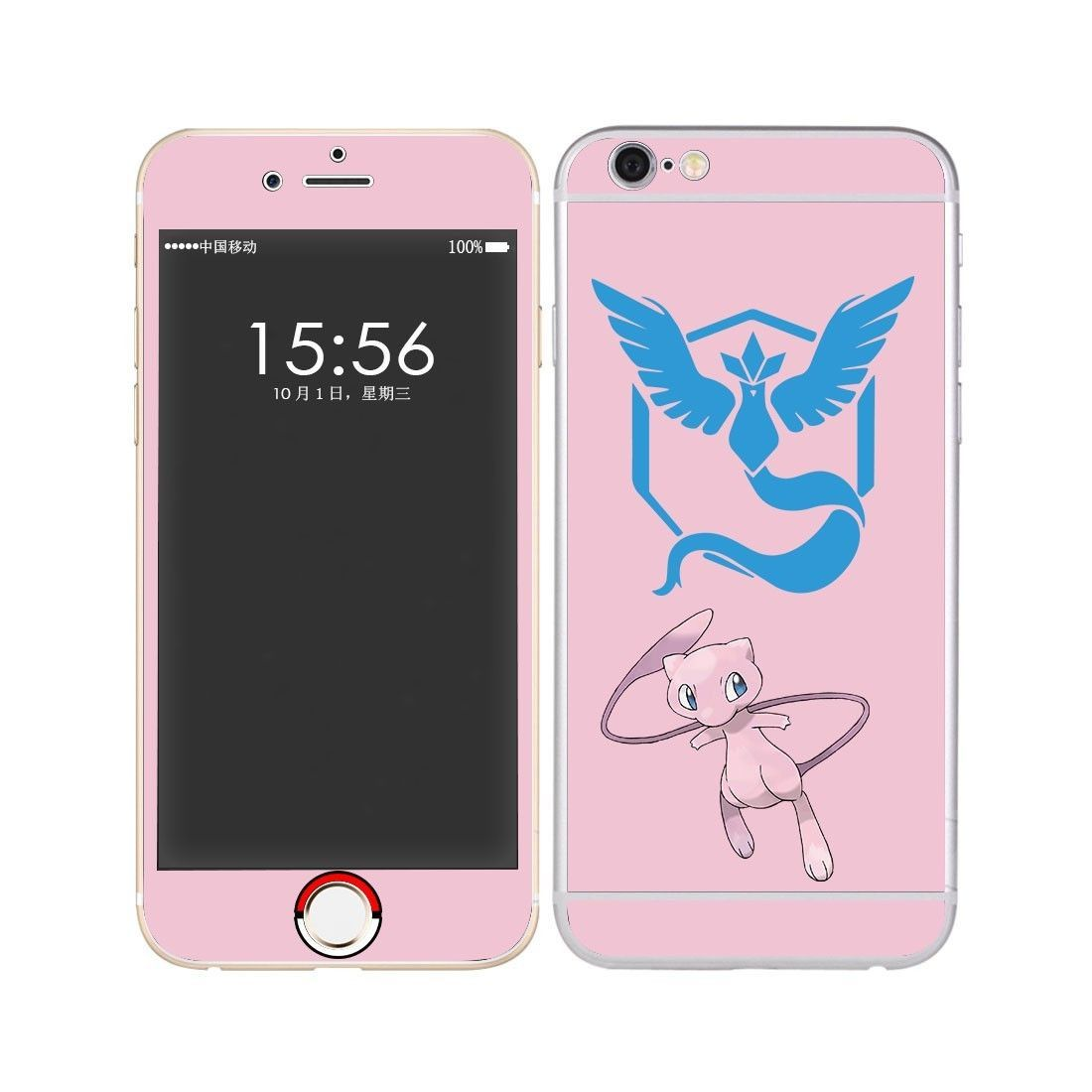 Pokemon Go Full Body skin decal Sticker Protective For iPhone6
