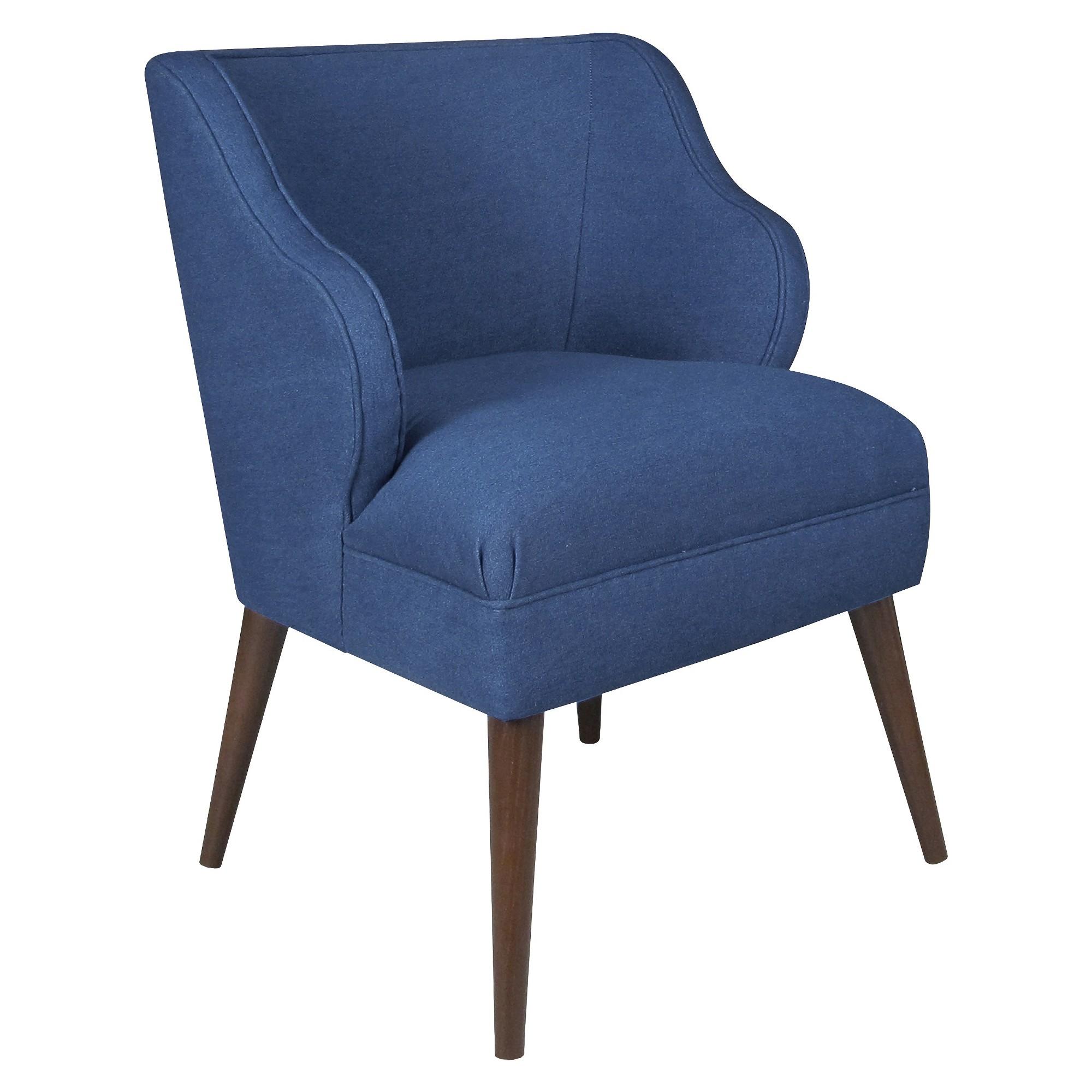 Best Accent Chair Denim Blue Skyline Furniture Accent 400 x 300