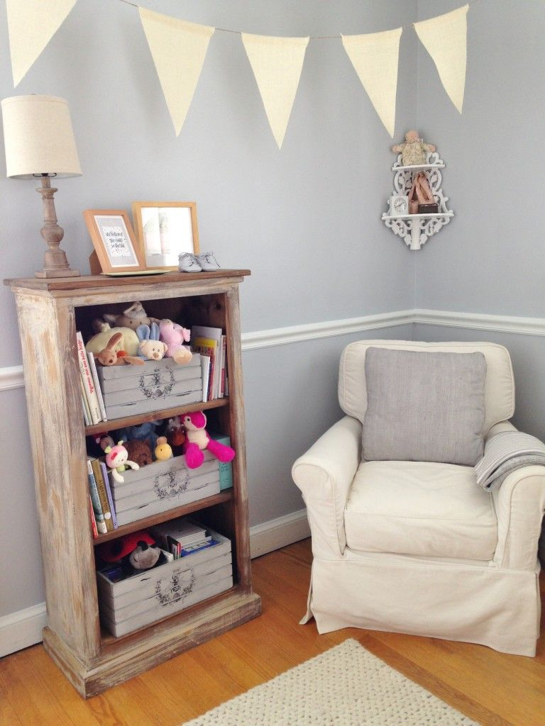 Adele Lous Soft Grey And Pale Pink Nursery Paint