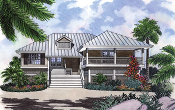 Explore Narrow Lot House Plans, Key West Style, And More! Part 32