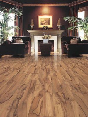 Bamboo flooring- the wood harvested to make these floors
