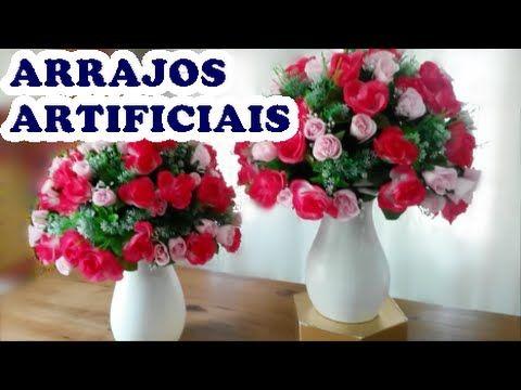 Arranjos De Flores Atificiais Como Fazer Arranjos Para Casamento E
