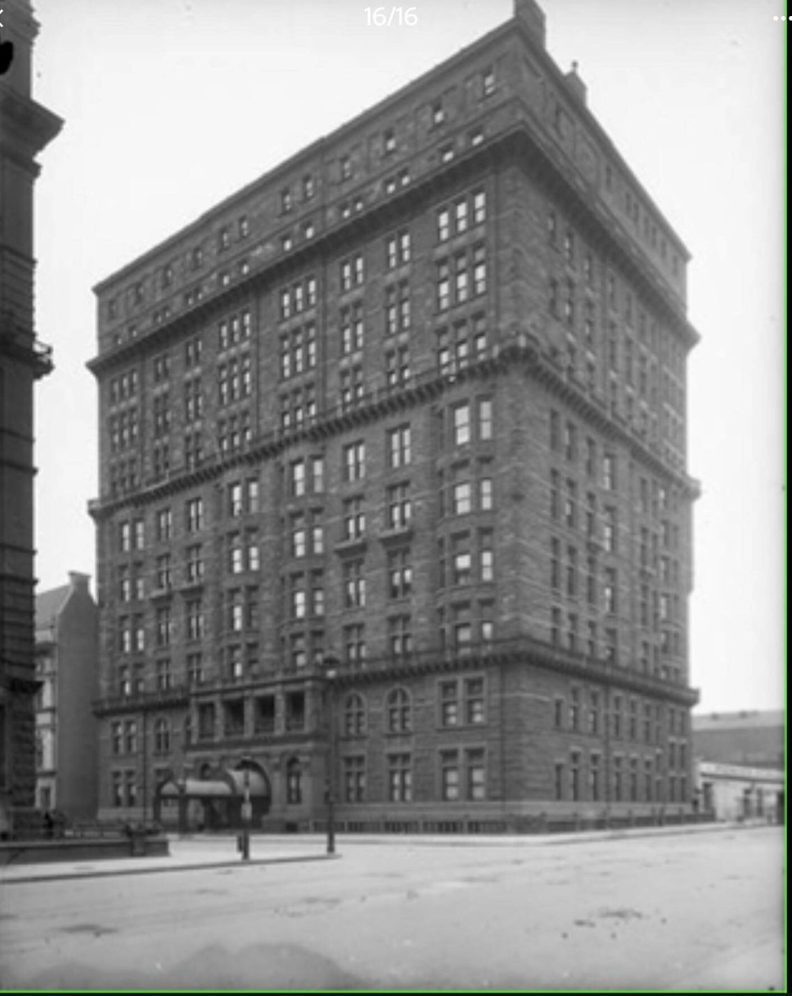 The Osborne Building On 57th Street And Seventh Avenue 1900 When There Was Nothing Else Around