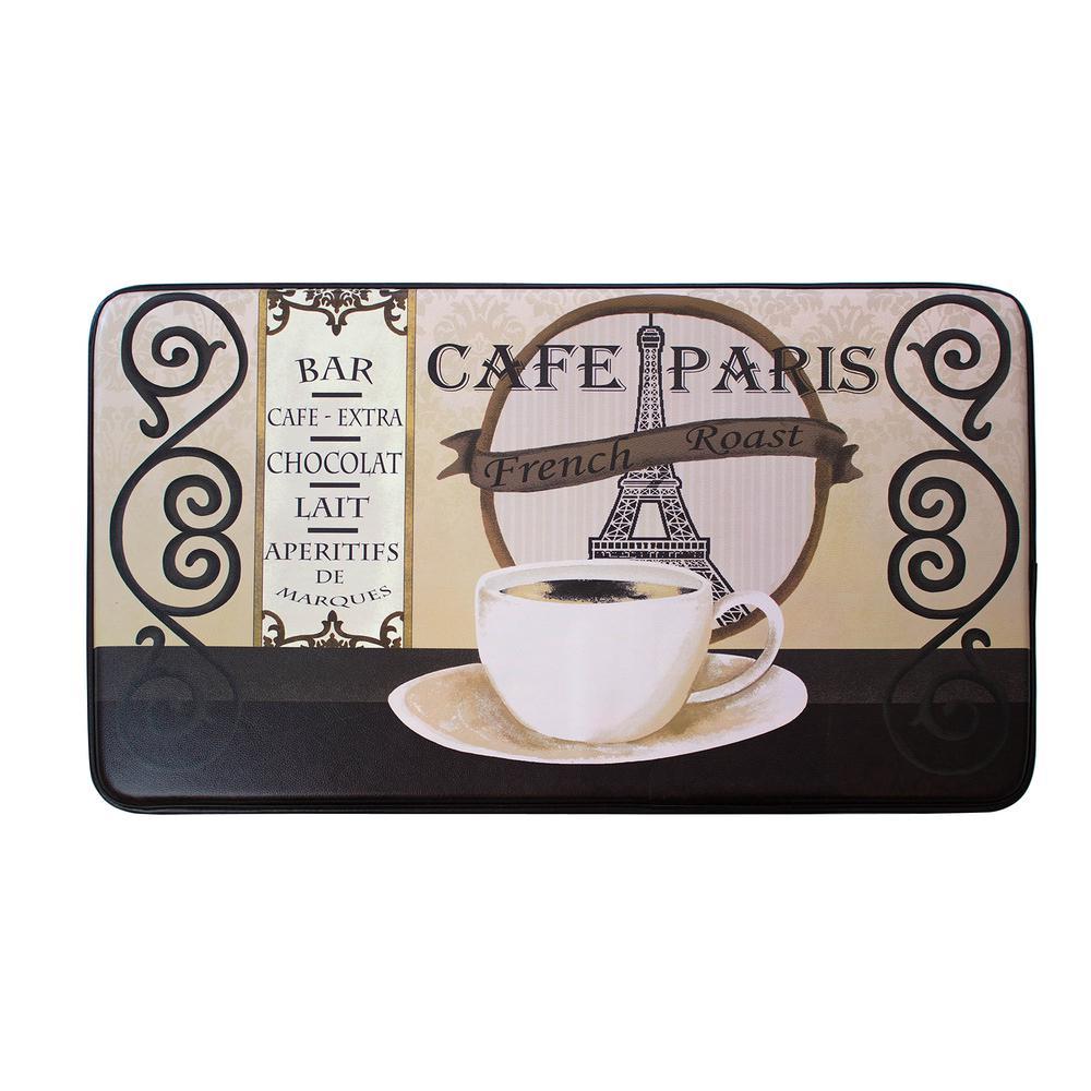 Laura Ashley Chef Gear Cafe Paris 24 In X 36 In Pvc
