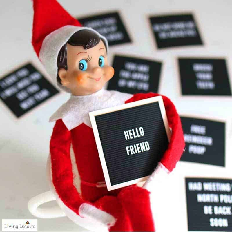 Best Elf on the Shelf Arrival Ideas #elfontheshelfarrival