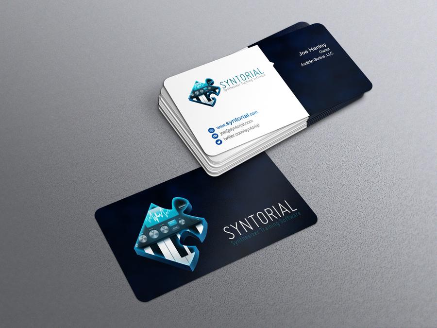 Audio software company needs sharp business card logo provided by audio software company needs sharp business card logo provided by edgar1van colourmoves