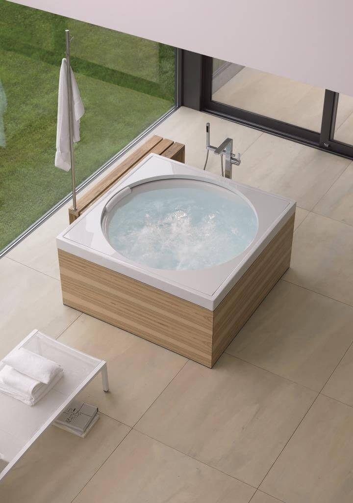 Prickelnder Outdoor Spass Badezimmer Design Badewanne Umbauen Whirlpool