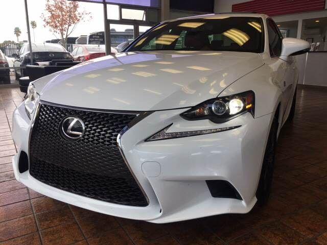 aBargain 2015 Lexus IS 250 Automatic 6-Speed White Sacramento ...