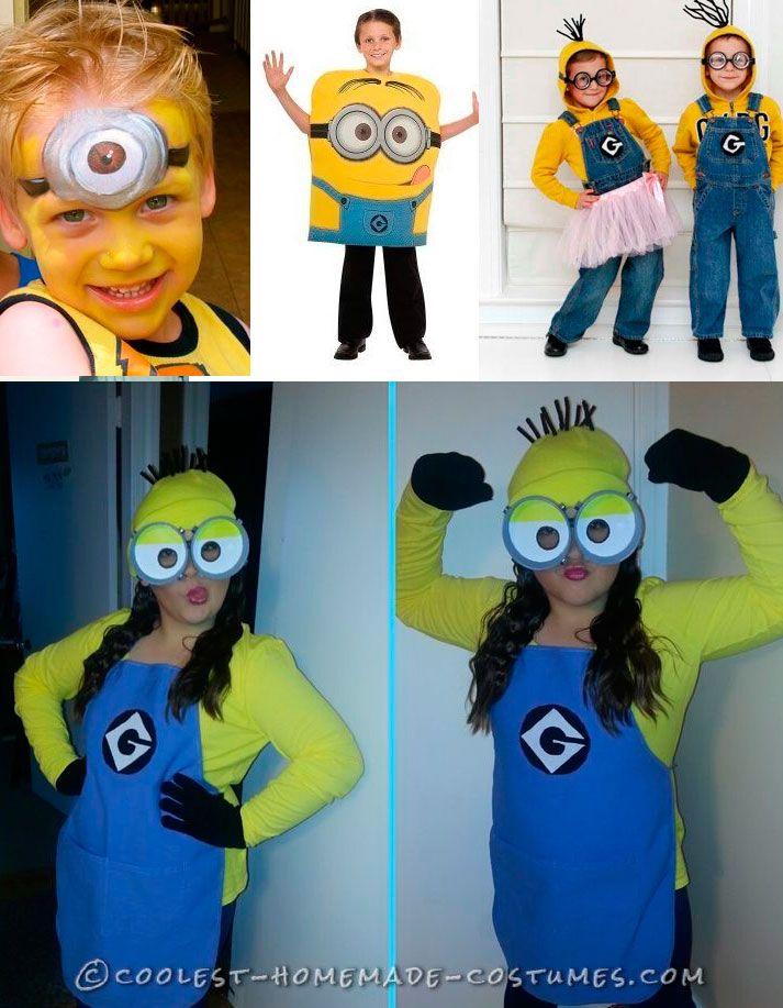 Minion costume carnival for kids disfraz minion - Difraces para carnaval ...