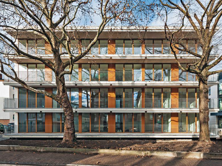 Waechter Waechter Architekten St Josef Senior Housing Frankfurt Am Main 2015 Via 2 Photos C Thomas Ott Facade Frankfurt Am Main Photo