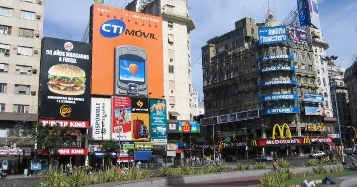 Bairro Centro em Buenos Aires #argentina #viagem