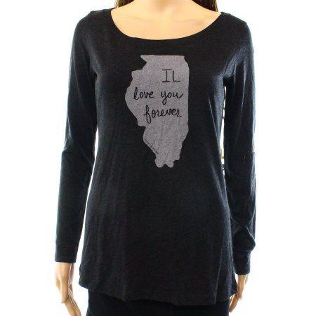 9e5224b87 Next Level Apparel NEW Gray Women's Size Medium M Illinois Tee T ...