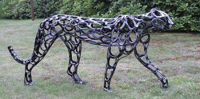 Life Sized Human Torso Mig Welding Forum Scrap Metal Art Horseshoe Art Welding Art