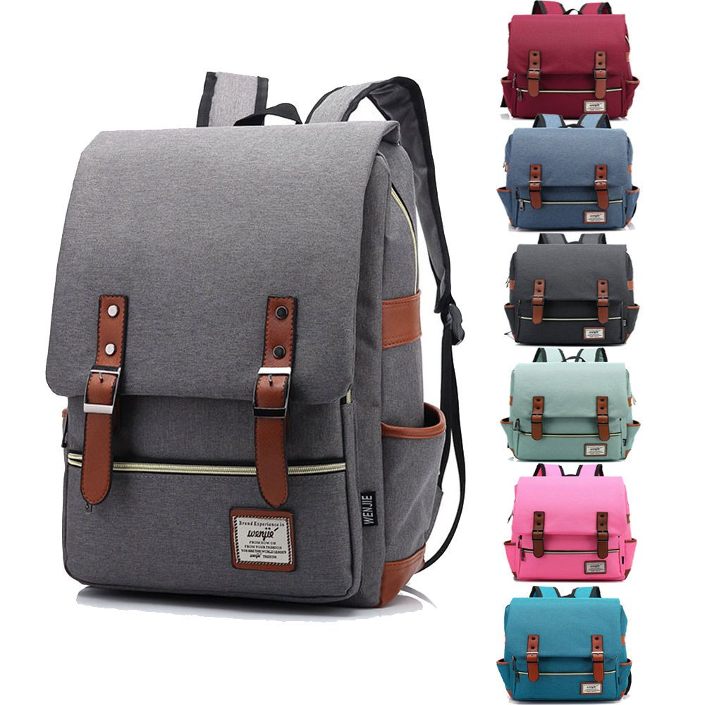 Casual Business Backpack New Sports and Leisure Travel Backpack Men and Women Fashion Canvas Backpack