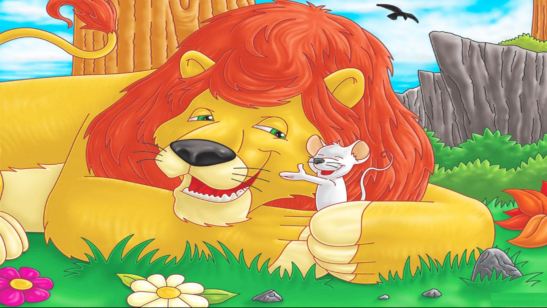 Lion Mouse Lion And The Mouse Lion Babies Stories