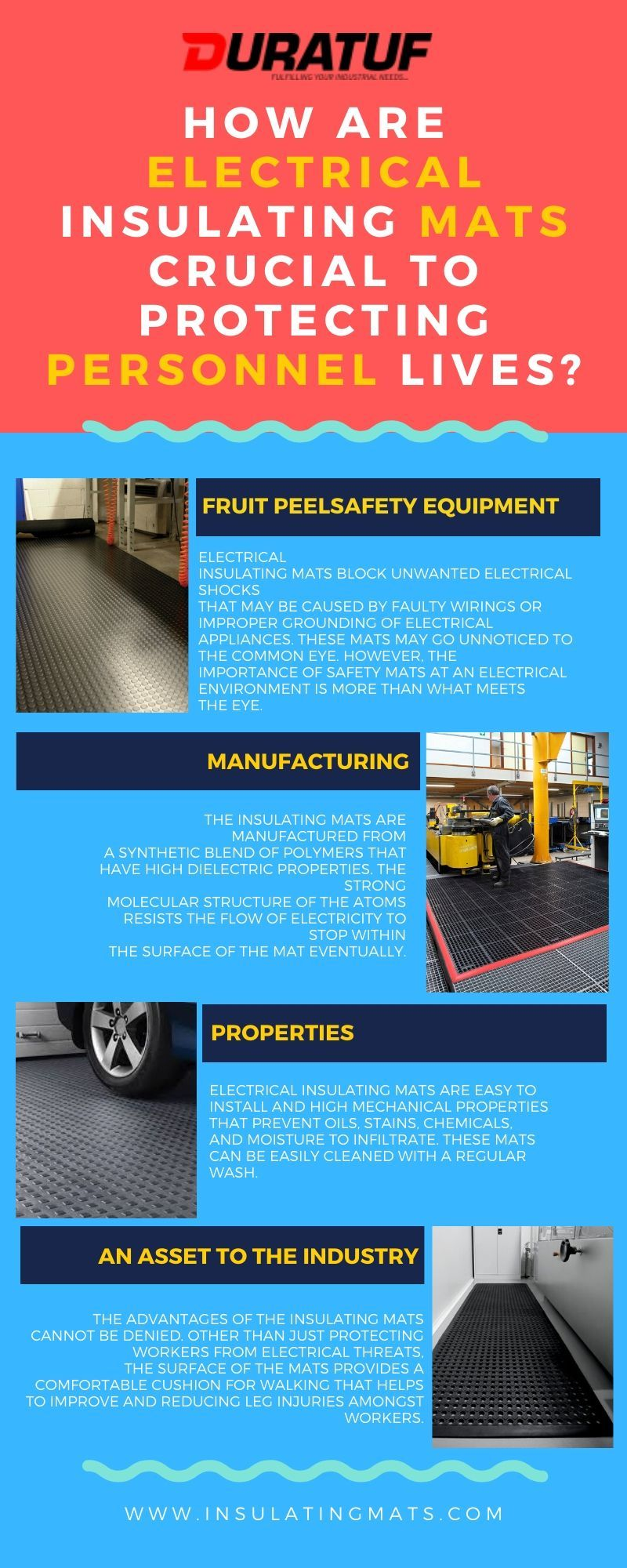 How Are Electrical Insulating Mats Crucial To Protecting Personnel Lives Electricity Electrical Appliances Mats