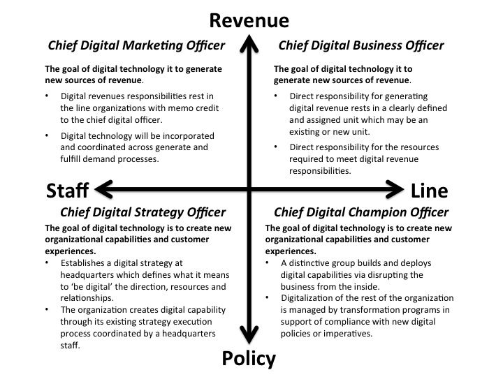 chief digital officer  what type does your organization