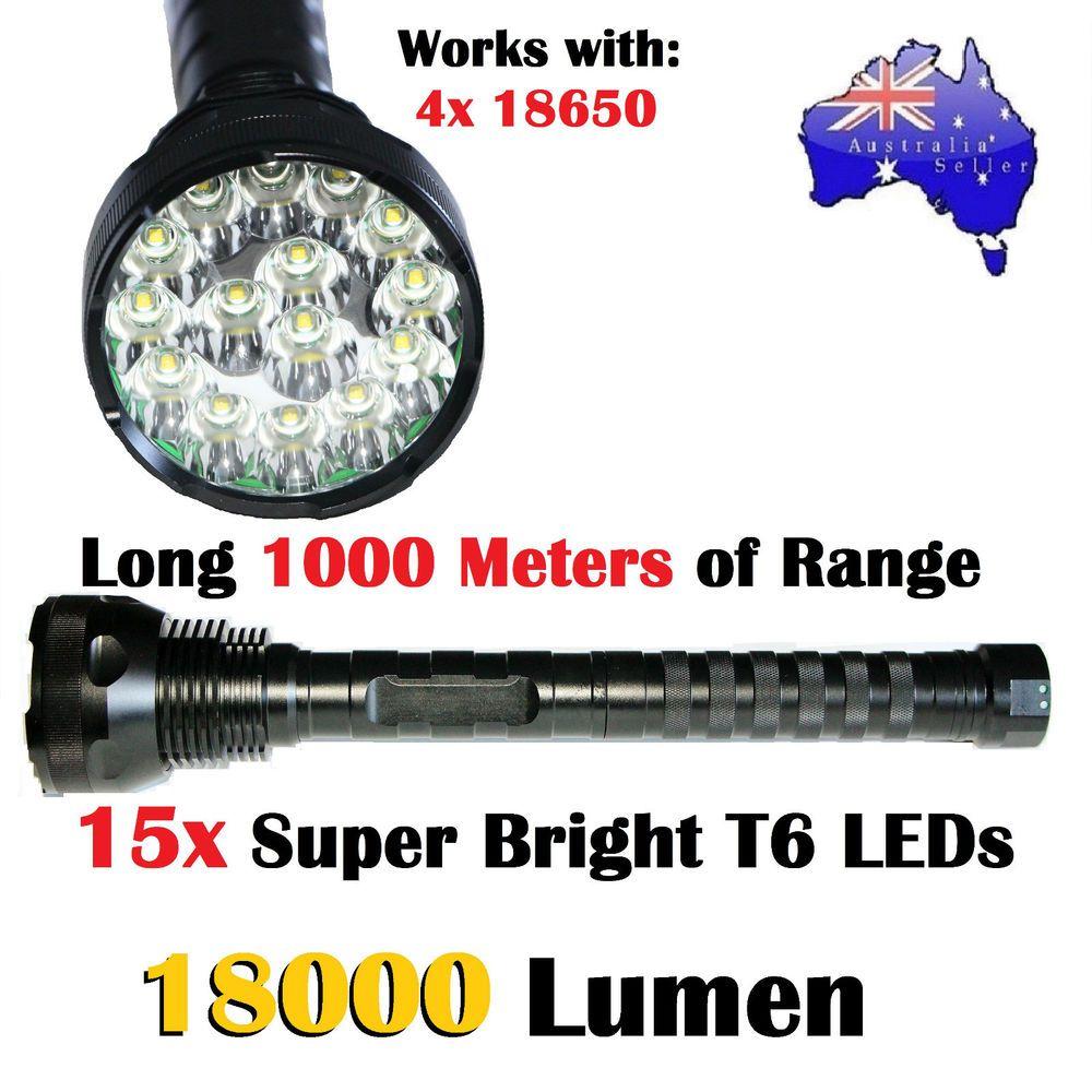 Details About Cree L Led Lumen 15x New Xm T6 18000 Brightest OPZuTikX