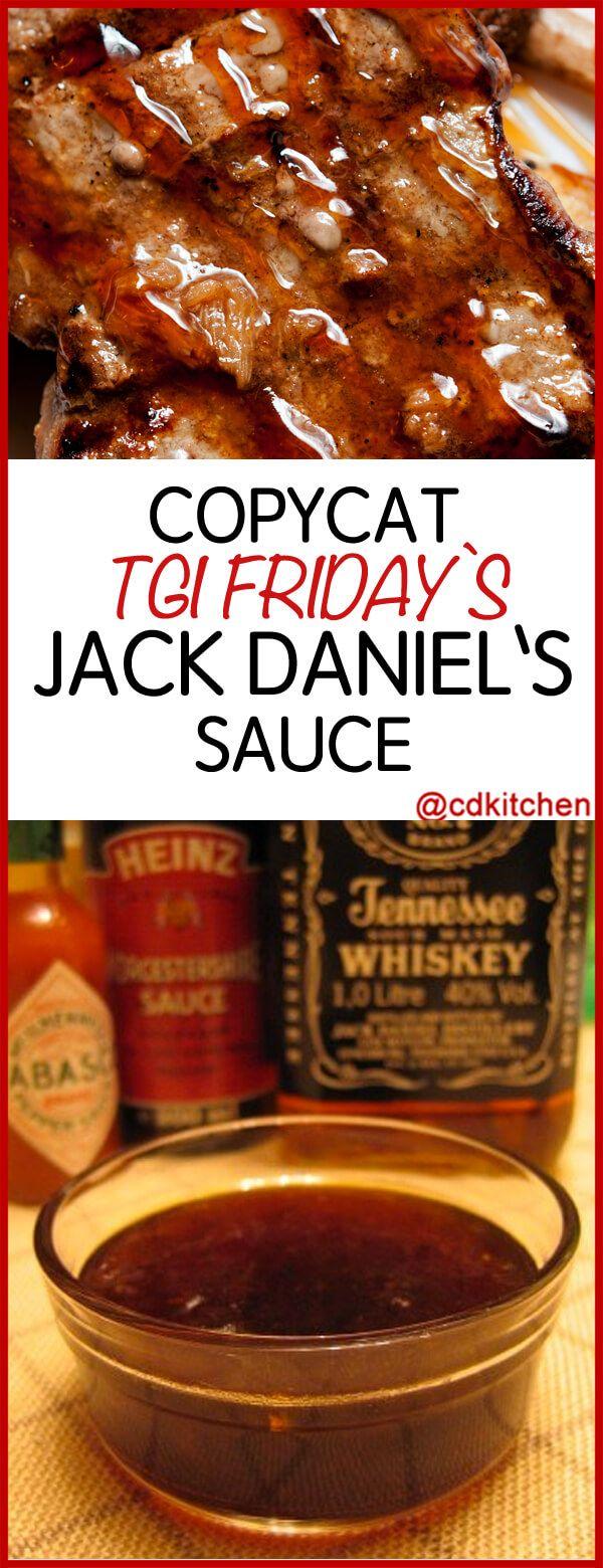 Photo of Copycat TGI Friday's Jack Daniel's Sauce Recipe | CDKitchen.com