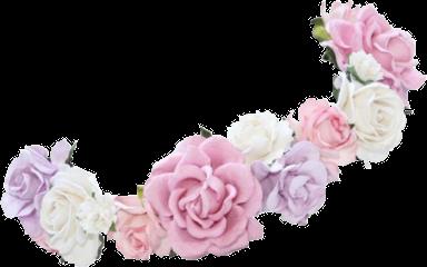 Amyrose Sticker By Neo Politan Anime Flower Flower Crown Transparent Flowers